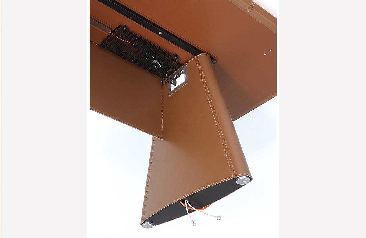 386 Holder to install under tabletop