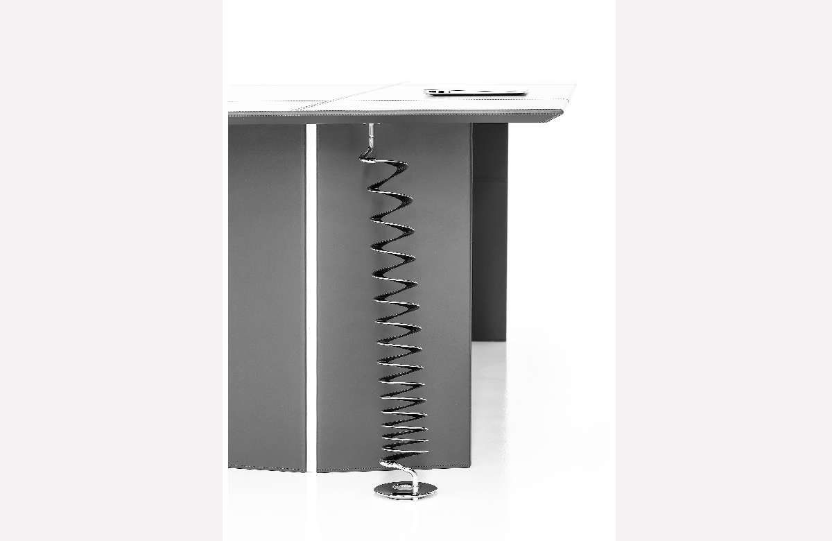 539C Helios - Flexible cable riser ducting for table